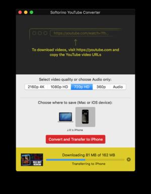 softorino youtube converter downloading
