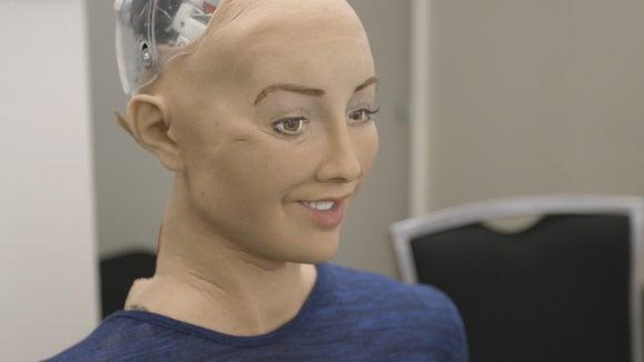 sophia hanson robotics humanoid robot