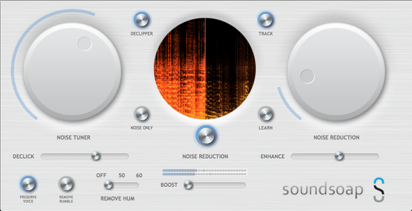 soundsoap 5 user interface