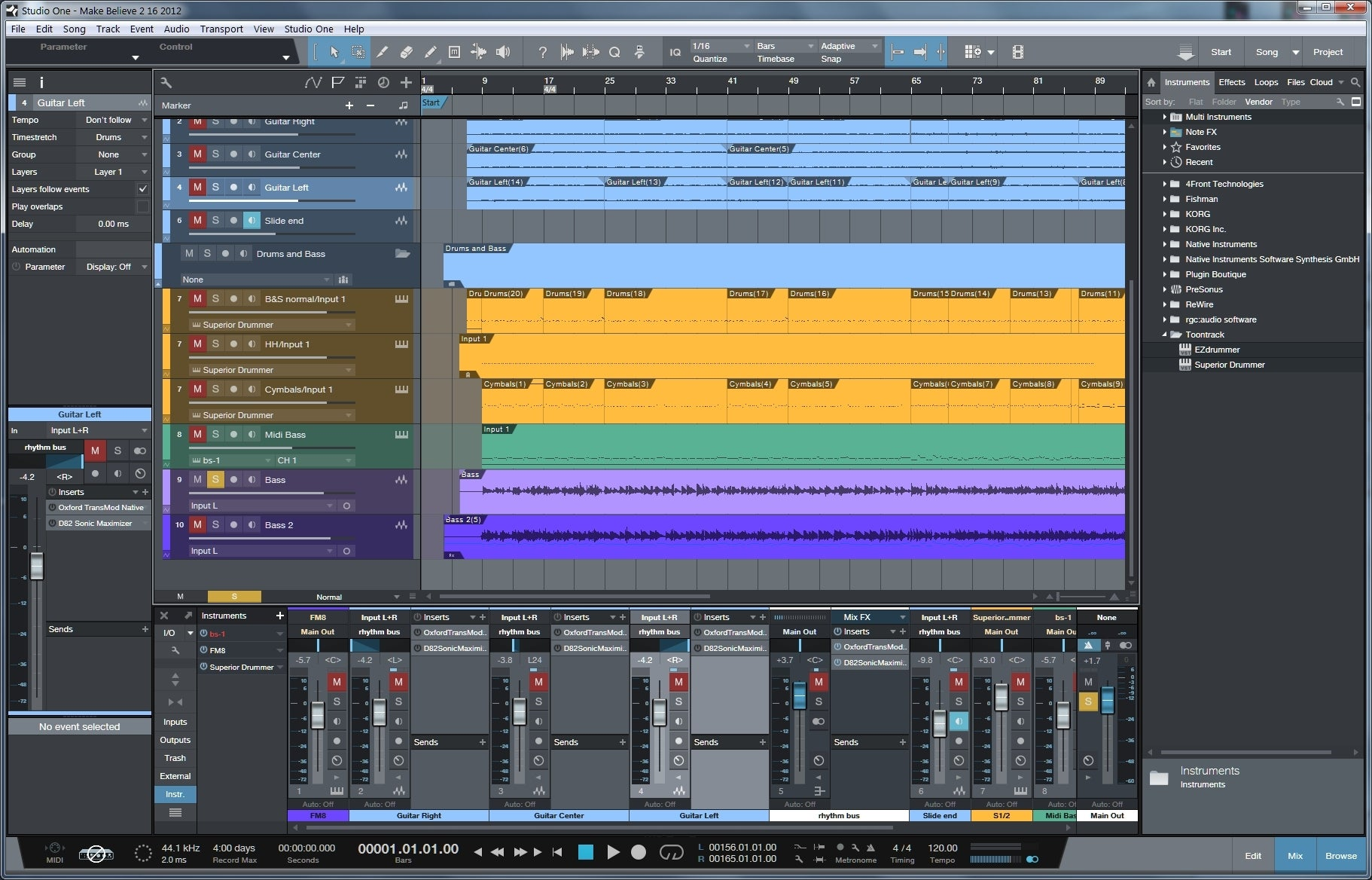melodyne studio one