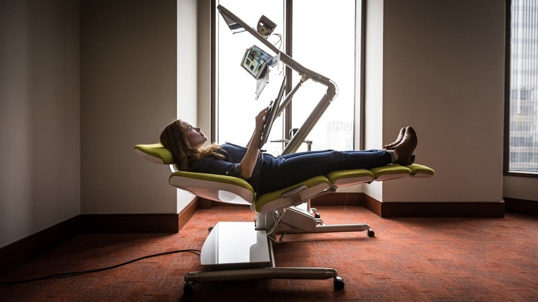 Nice Altwork Is A Crazy Configurable Desk For Lying Down On The Job | Macworld Pictures