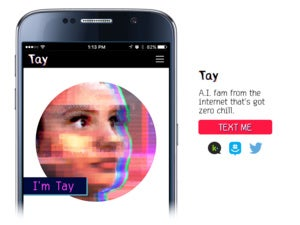 Microsoft tay ai twitter chatbot