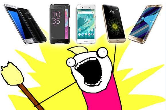 the list new phone