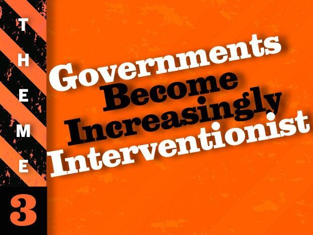 theme 3 govt interventionists