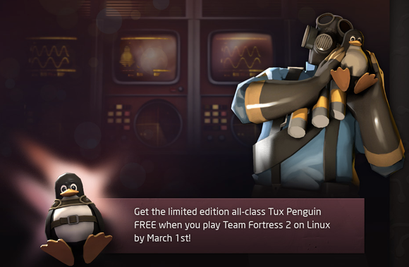 Tux for Team Fortress 2