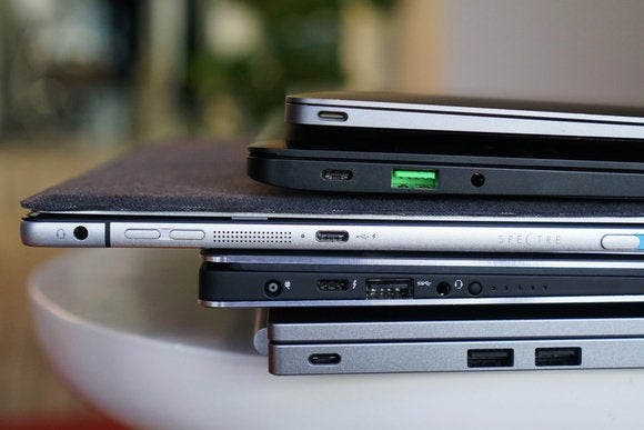 usb c laptops stack