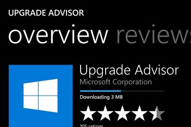 Microsoft windows 10 mobile upgrade advisor