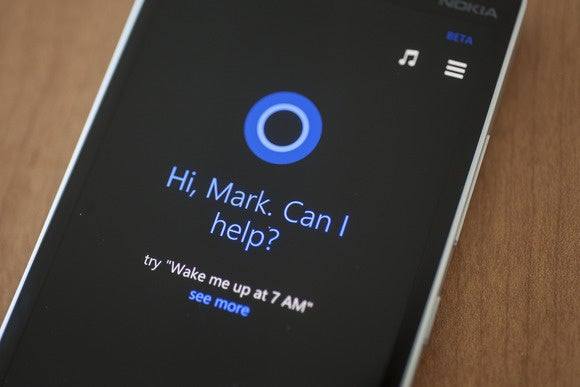 windows phone cortana