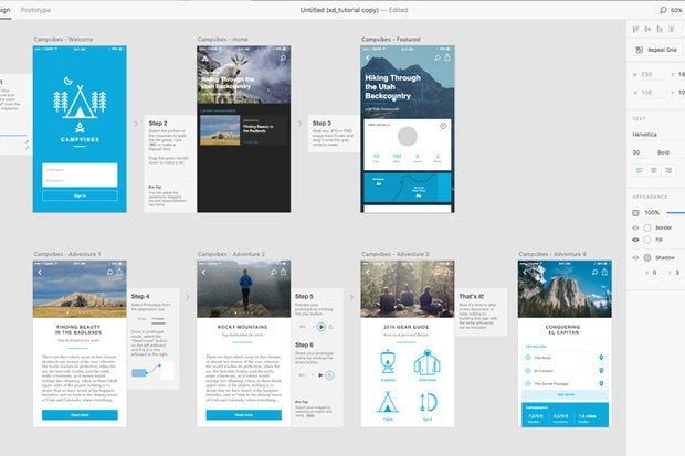 Adobe XD debuts as a free Mac public preview | Macworld