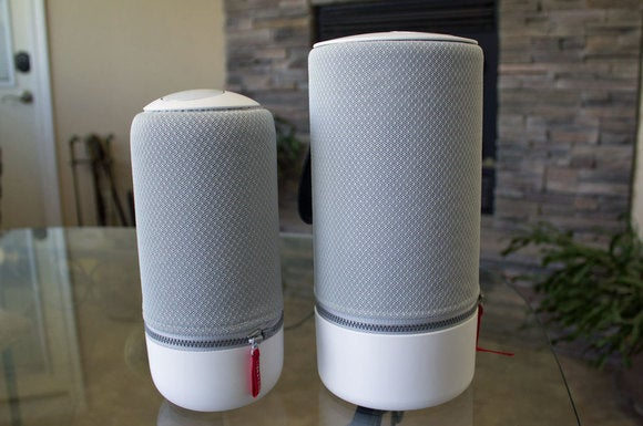 Libratone Zipp (right) and Zipp Mini (left)