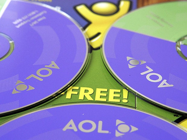 A lot of trouble just for AOL