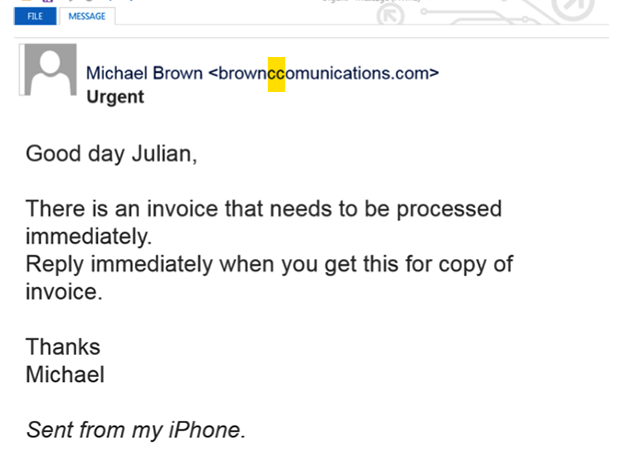 10 whaling emails that could get by an unsuspecting CEO