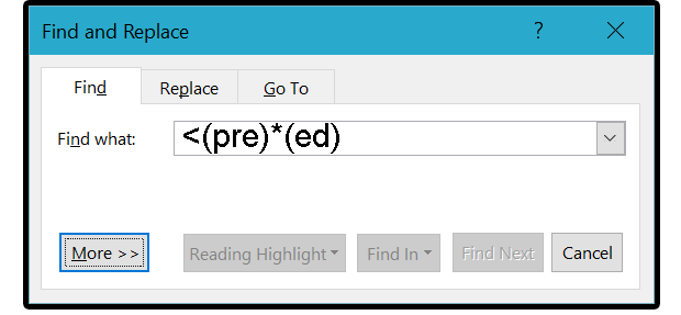 Word Pro Tips Use Wildcards For Faster More Accurate Search And