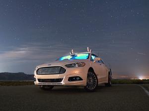 Ford LiDAR autonomous car