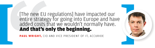 Paul Wright, CIO and vice president of IT, Accuride [quote/2016]