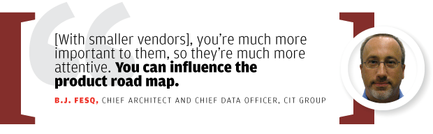 BJ Fesq, chief architect and chief data officer, CIT Group [quote/2015]