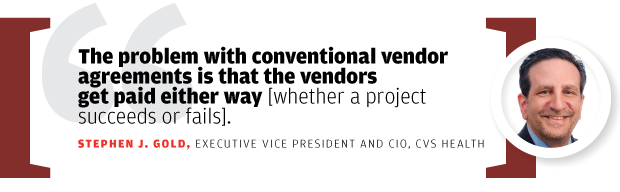 Stephen Gold, executive vice president and CIO, CVS Health [quote/2015]