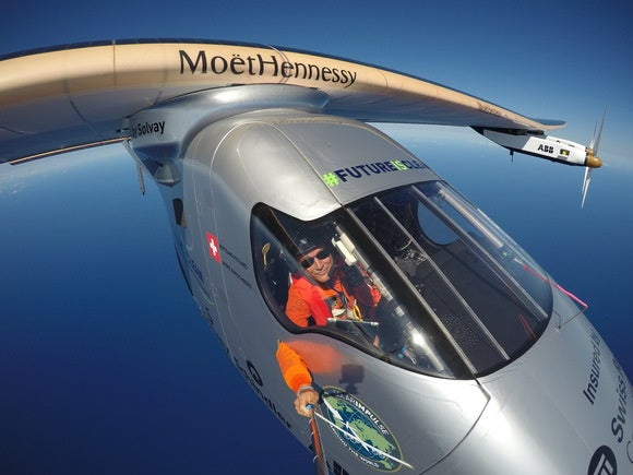 The solar-powered Solar Impulse 2 aircraft is flying across the U.S.