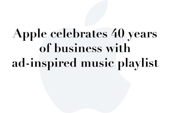 40 years playlist
