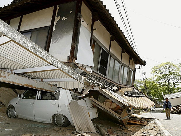 4 earthquake japan