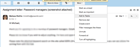 add to tasks gmail