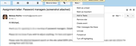 add to tasks gmail