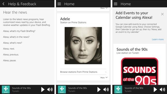 You can customize Alexa on the Triby via the Alexa smartphone app.