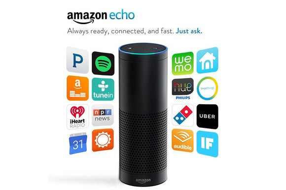 The Triby and Amazon Echo have some similar features but very different hardware.