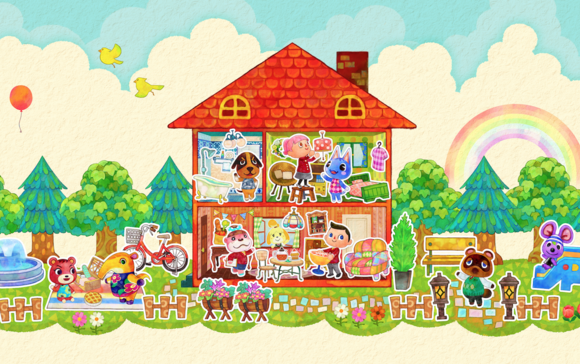 animal crossing hhd artwork