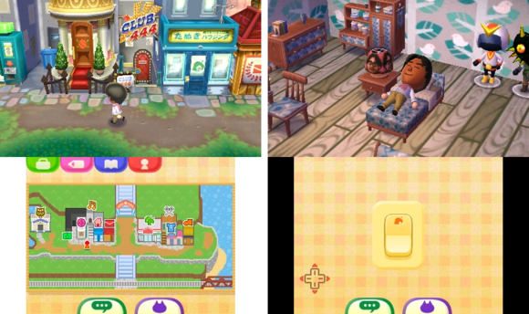 animal crossing new leaf screens