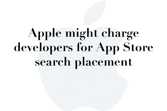 app store search placement