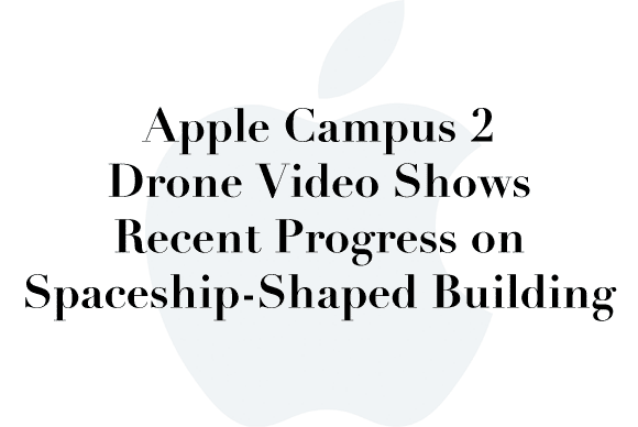 apple campus 2 drone video