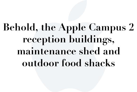 apple campus 2 reception