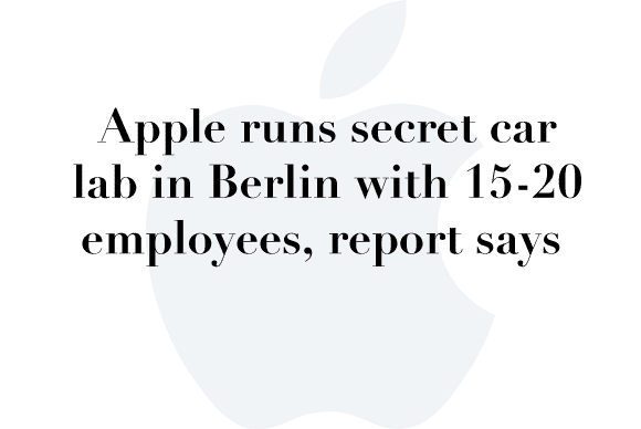 apple car secret lab