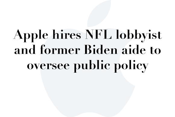apple lobbyist