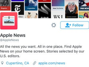 apple news twitter