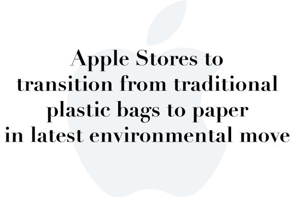 apple paper plastic