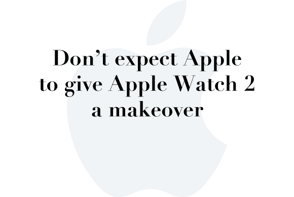 apple watch 2 makeover