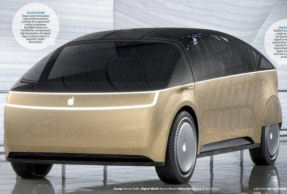 apple car motortrend