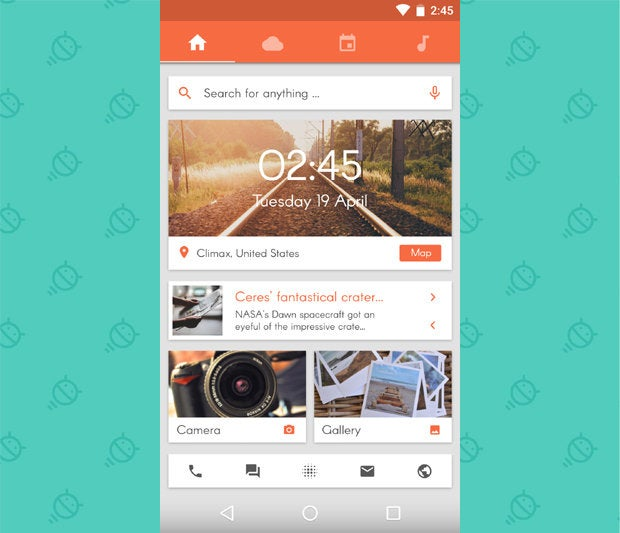 Awesome Android Home Screens: The Sliding Stacker (1)