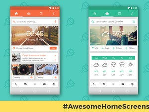 Delightful Awesome Android Home Screens: The Sliding Stacker