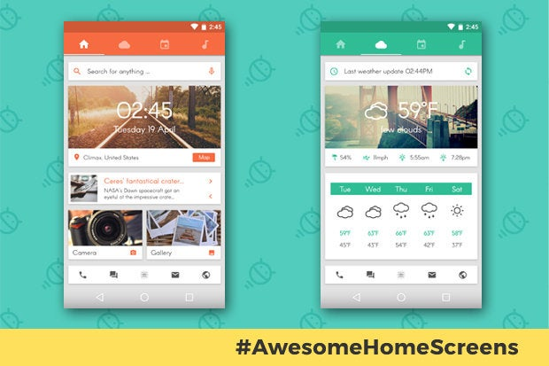 Awesome Android Home Screens: The Sliding Stacker