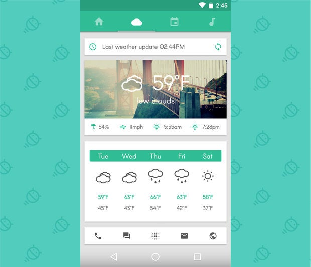 Awesome Android Home Screens: The Sliding Stacker (2)