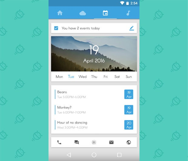 Awesome Android Home Screens: The Sliding Stacker (3)