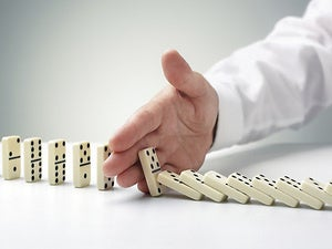 blocked dominoes