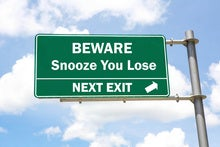 You Snooze You Lose: The Road to Business Value is Paved with Data