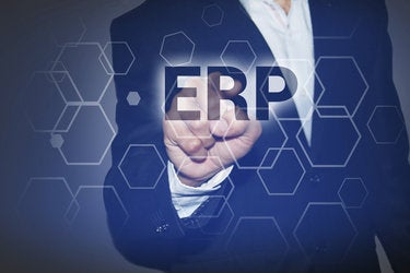 businessman pressing touch screen interface and select erp 000079278573 medium