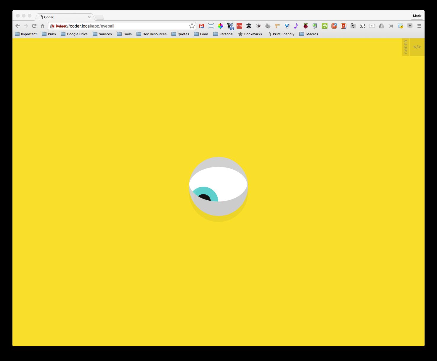 Raspberry Pi + Google Coder = HTML + CSS + JS + node js = Way cool