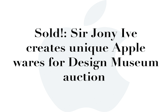 design museum auction