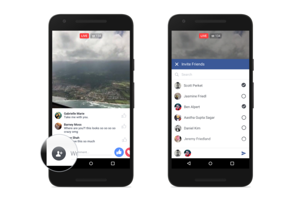 facebook live video android